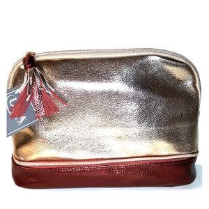 NWT Large ULTA 2 pocket Cosmetic Travel Bag